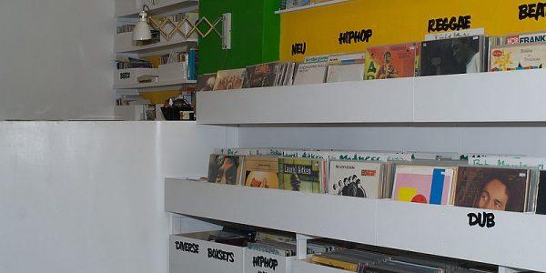 Innenansicht rechts - Vinyl-a-Gogo
